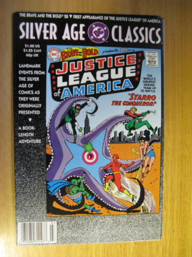 SILVER AGE CLASSICS, 1ST APPEARANCE JUSTICE LEAGUE OF AMERICA.