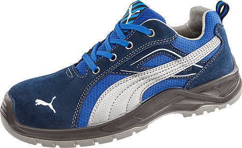Puma Safety 643615 Low Cut Omni Blue EH Rated Safety Toe Non Slip Athletic Shoes