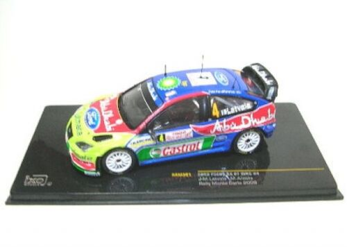 Ford Focus Rs WRC No. 4 Course Monte Carlo 2008