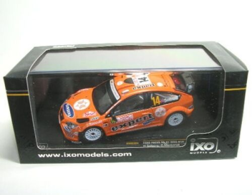 Ford Focus Rs07 WRC N°14 Course Monte Carlo 2008