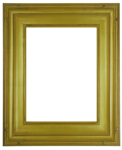 11 x 14 Picture Frame HandApplied Gold Leaf Finish Gallery Style Awesom Quality