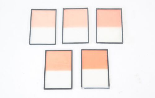 SET OF 5 FILTERS GRADED CORAL HARD 4x6 (+1,+2,+3,+4,+5)