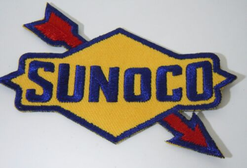 """SUNOCO OIL & GAS Embroidered Iron On Uniform-Jacket Patch 3.5"""""""