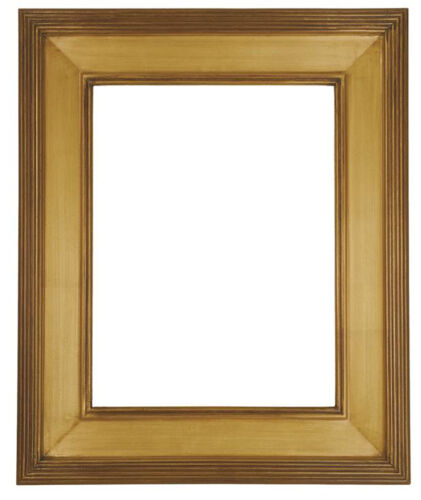 16 x 20  Picture Frame Hand Applied Gold Leaf Finish Gallery Frame Super Nice