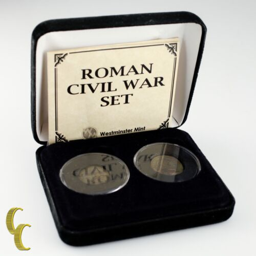 Civil War Roman Civil War Westminster Mint Set Constantine The Great,  Licinius