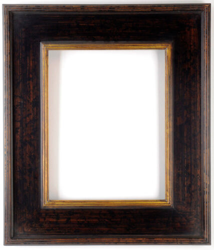 "20 x 24 Plein air  Picture Frame Hand Burnished Black & Gold  ""Super Quality"""