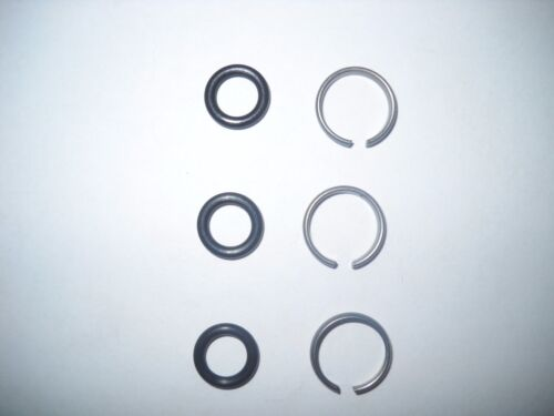 """1/2"""" Impact Wrench / Gun Socket Retainer Ring with O-Ring - 3 Sets"""