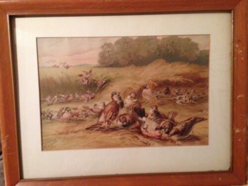 """1870-79 Raphael Tuck & Sons """"The Foraging Party"""" Original Print,Giacomelli,Color"""