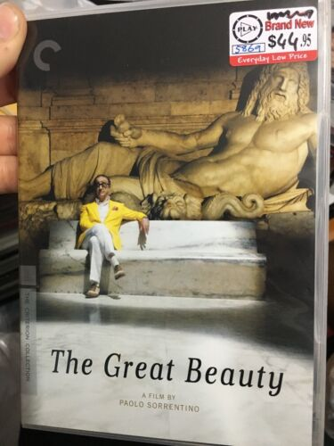 Criterion Collection - The Great Beauty region 1 DVD (2 discs) 2013 Italian film