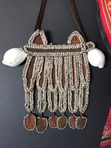 Old Papua New Guinea Woven Breast Plate …beautiful collection piece
