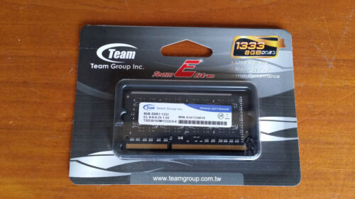 New Team Memory 8GB 204-Pin DDR3 SO-DIMM DDR3 Laptop Mini PC