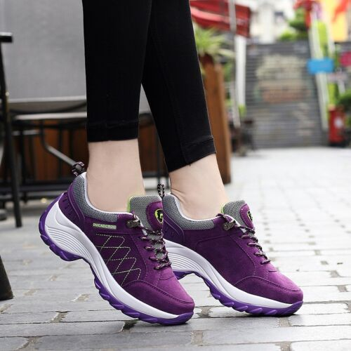 Women's Sport casual Shoes Athletic Trainer Running Sneakers walking Breathable