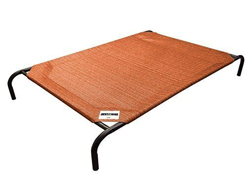 Extra Large Dog Bed Elevated Indoor Raised Pet Cot Outdoor Durable Steel Frame
