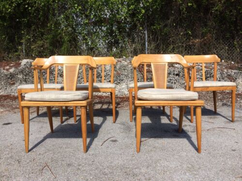 6 Tomlinson Dining Chairs nelson mccobb eames mid century