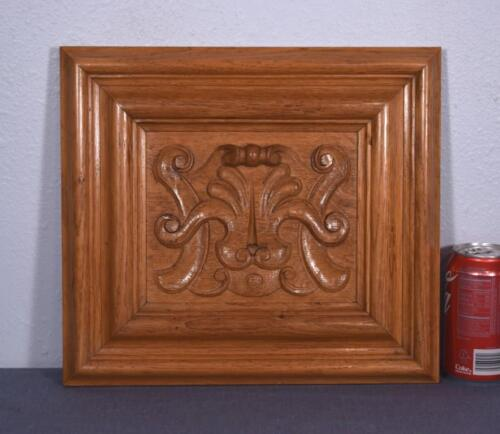 *Vintage French Carved Oak Wood Panel w/Shell (4 AVAILABLE)