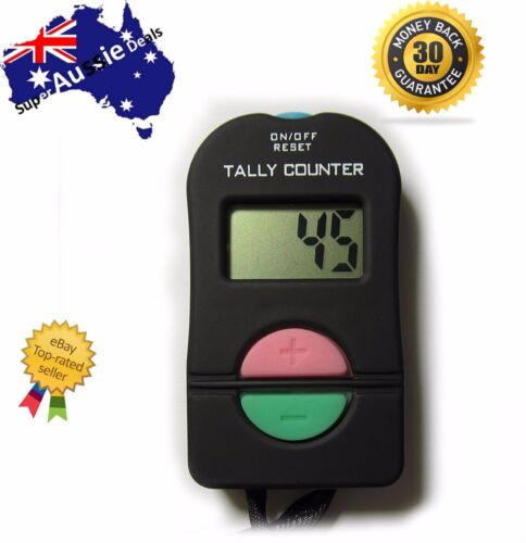 Digital Electronic Hand Tally Head Counter Clicker - Bouncer Crowd Sport Golf <br/> 🔥Over 3000+ Sold 🔥 Satisfaction Guaranteed 🔥