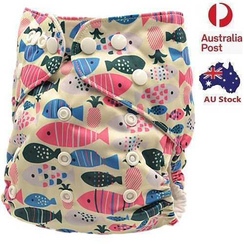 Baby Girl Modern Cloth Nappies Nappy Baby Pants Cloth Diaper With Liner(D163)