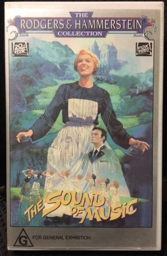 The Sound Of Music Vintage VHS Videotape Home Video Musical PAL