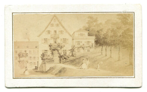 ARCHITECTURAL, ARTISTS VIEW, CDV.
