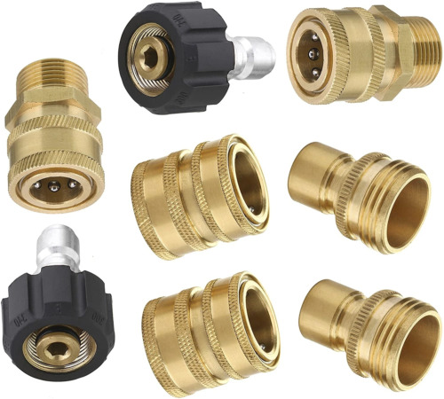 "M22 Ultimate Pressure Washer 3/8"" Quick Connect Kit <br/> Authorized Pressure Parts Dealer 