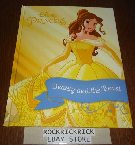 DISNEY PRINCESS BEAUTY AND THE BEAST STORYBOOK (A4 SIZE) -BRAND NEW-