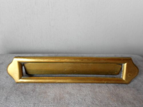 French Vintage solid brass LETTER MAIL SLOT