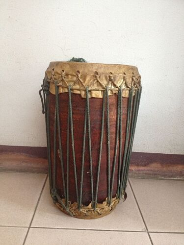 Thailand traditional wood drum