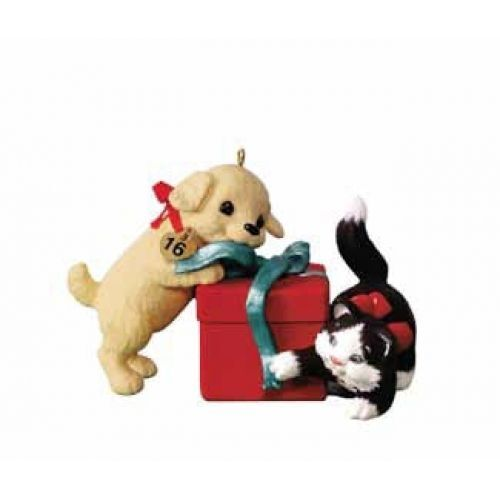 Hallmark 2016 Mischievous and Loving KOC Exclusive Limited Quantity Ornament