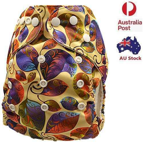 New Modern Cloth Nappies Unisex Nappy Pilcher Pilchers Diaper With Liner (D177)