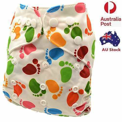 Absorbent Modern Cloth Nappies Unisex Nappy Pilcher Pilchers Diaper Liner (D178)