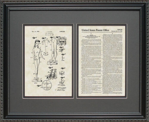 Patent Art - Barbie Doll - Wall Hanging Gift R9284