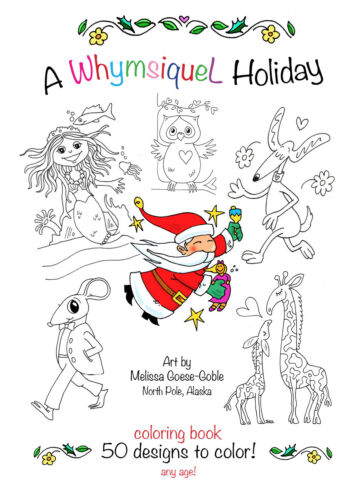 North Pole Coloring Books with holidays! Great for all ages. Quality paper.