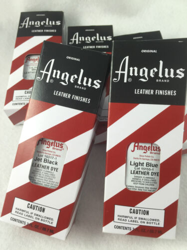 SPECIAL! Angelus Leather Dye for leather shoes, boots & hand bags. 88.72 ml