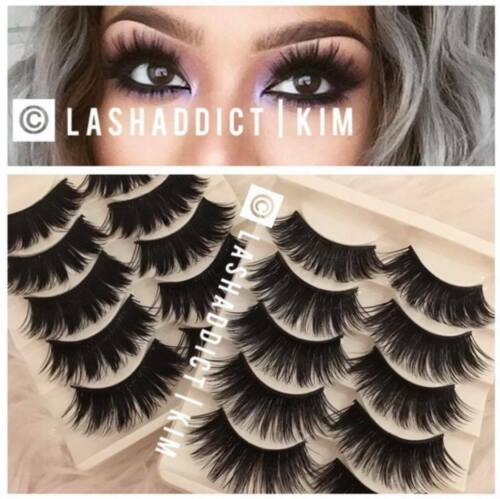 💕 TOP DEAL 3 / 6 Pairs 3D Mink Fur lashes   10 pairs Iconic Eyelashes US SELLER