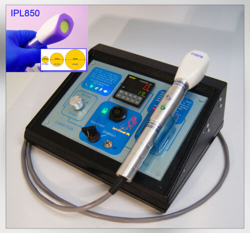 IPL850 Laser remove hair wrinkles professional system with kit permanent  IPL.