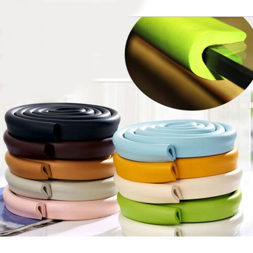 Baby Safety Corner Desk Edge Bumper Protection Cover Protector Table Cushion FT