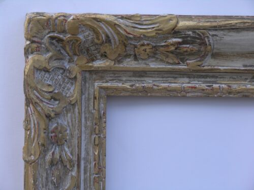 """EARLY AMERICAN AUTHENTIC NEWCOMB MACKLIN CO. 33"""" X 36"""" CARVED ART FRAME SIGNED"""