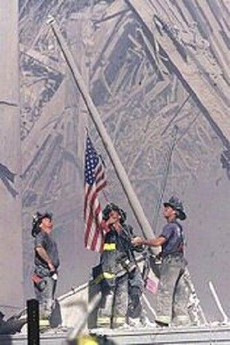 United We Stand - September 11, 2001 by Talmadge Davis Paper Giclee