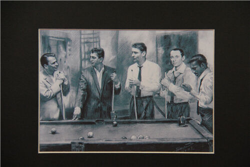 The Rat Pack 8x10 matted Art Print Poster Decor picture Gift Photograph Display