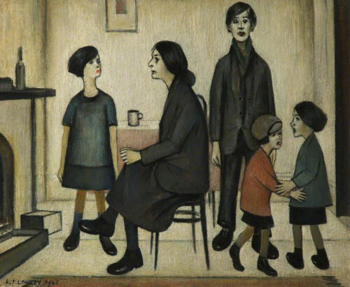 Discord  by LS Lowry   Giclee Canvas Print Repro