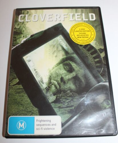 Cloverfield 2 Disc Limited Edition DVD Movie