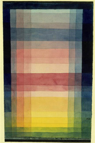 Architecture of the Plain  by Paul Klee   Giclee Canvas Print Repro