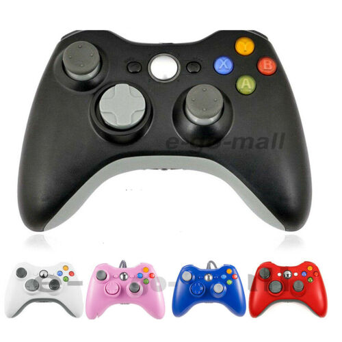 USB Wired / Wireless Game Controller Gamepad Joystick for Microsoft Xbox 360 &PC