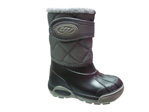 BabyBotte Xtreme Grey Snow Boot with Strap Various Sizes