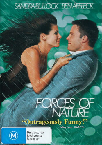 Forces Of Nature - Comedy / Adventure - Ben Affleck, Sandra Bullock - NEW DVD