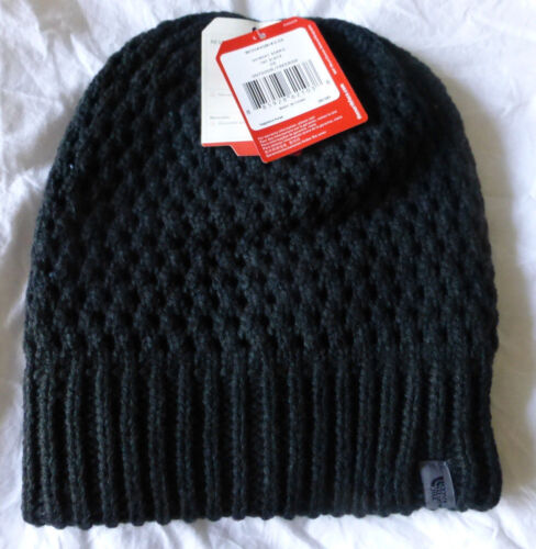 The North Face Black Slouch Shinsky Beanie Hat Unisex New With Tags