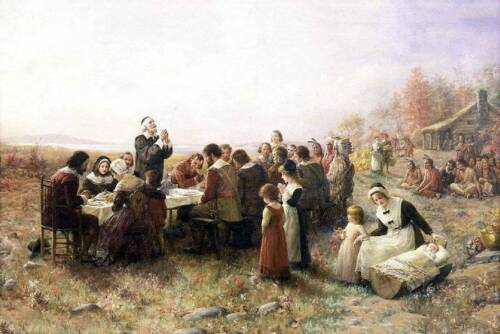 Early American Thanksgiving