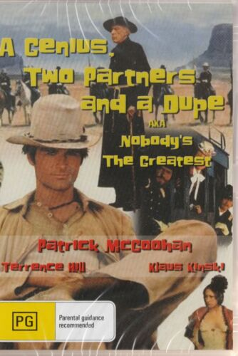 Terence Hill: Nobody's the Greatest *New & SEALED* ALL Regions (Plays on any Pla