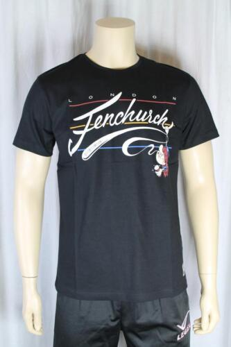 FENCHURCH nero da uomo t shirt taglia media (83)