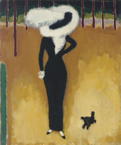 Parisian Lady  by Kees van Dongen  Giclee Canvas Print Repro